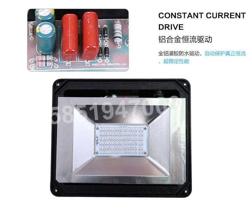 Промышленный светодиодный прожектор LED 30W-400W (115-101) - 11