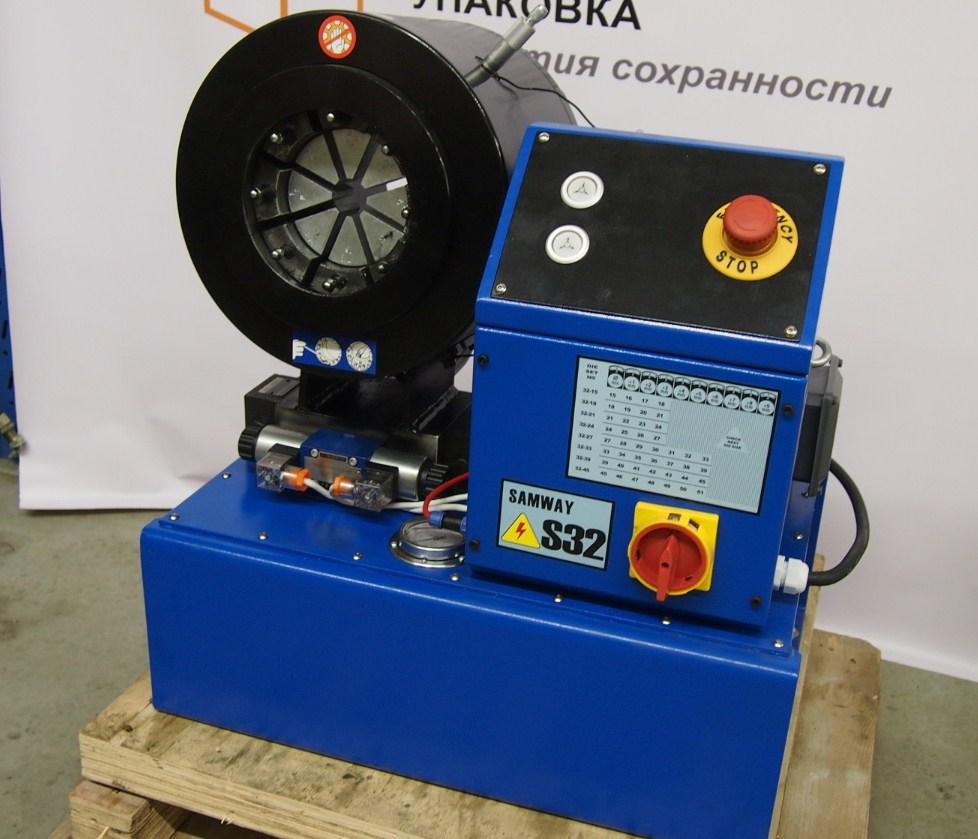 Экономичный обжимной станок РВД - SAMWAY S32 (108-178) - 3