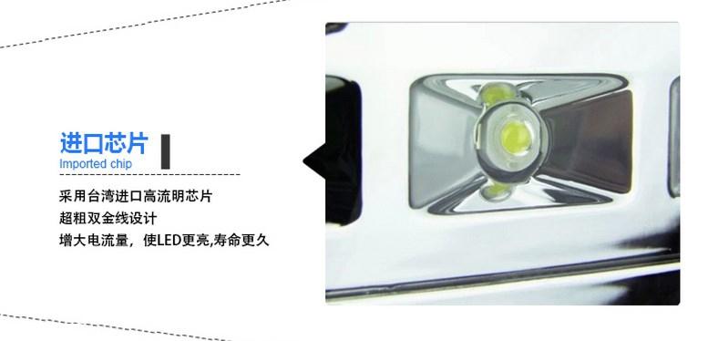 Светодиодный светильник LED Dema Light 6W-182W (115-103) - 14