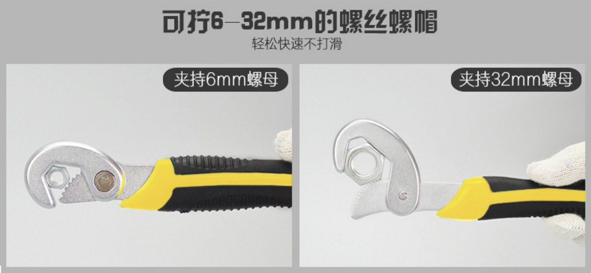 Многофункциональный гаечный ключ Yi Ruize WNBS 6-32мм (131-106) - 8