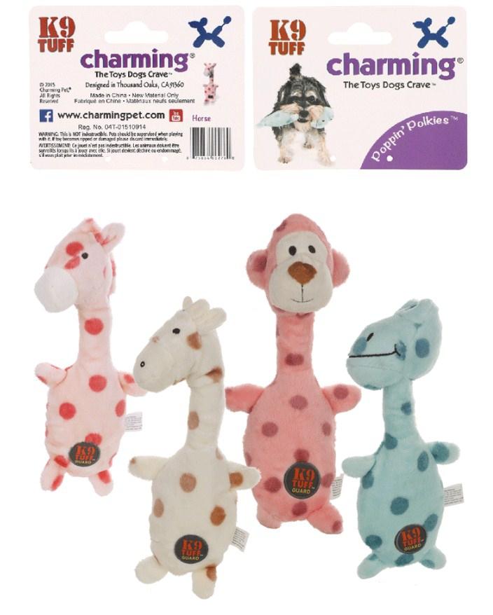 Игрушка для собак CharmingPet - POPPIN' POLKIES (128-101) - 4