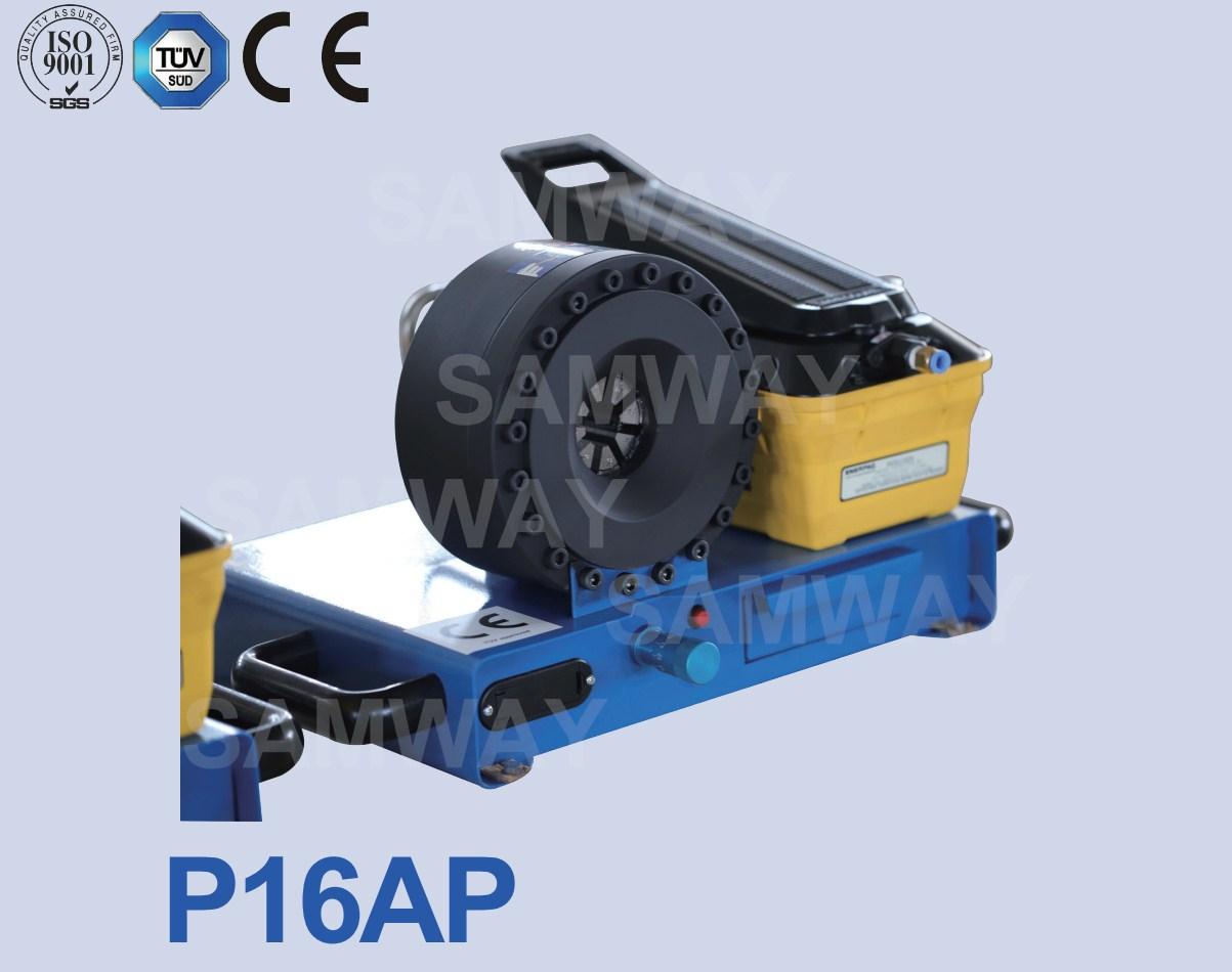 Ручной станок для обжима воздухом РВД SAMWAY P16AP (108-143) - 1