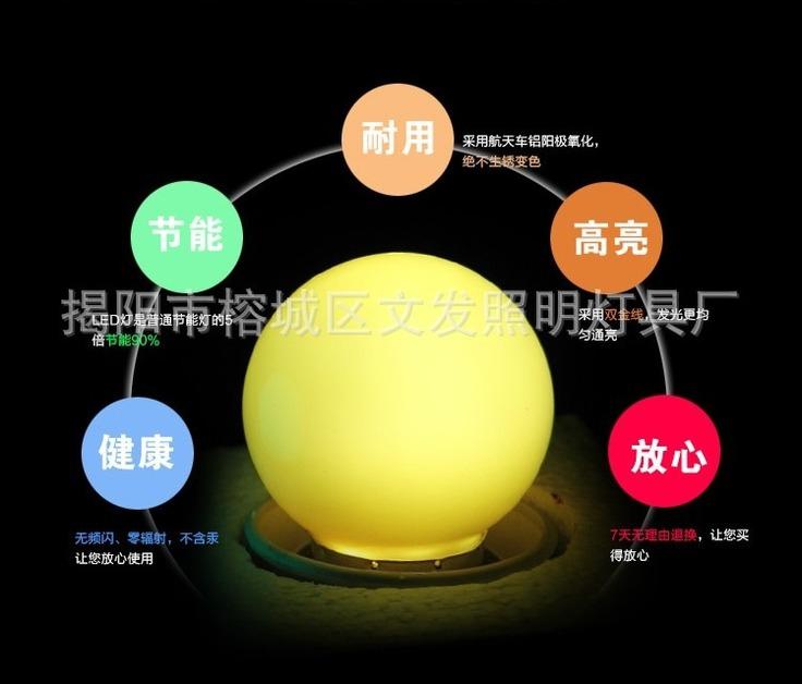 Лампа светодиодная  разных цветов LED-Е27-WF-S36C (101-212) - 6