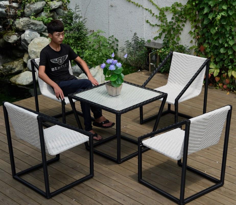 Столик и кресла из ротанга BASI LYNTON (132-100) - 6