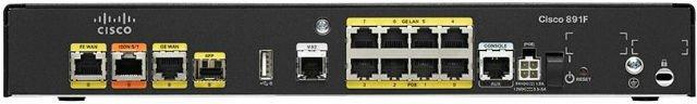 Маршрутизатор Cisco C891F-K9 (134-206) - 1