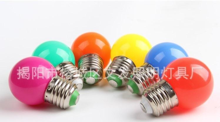 Лампа светодиодная  разных цветов LED-Е27-WF-S36C (101-212) - 1