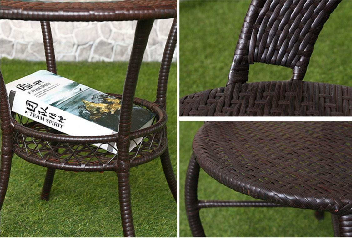 Столик и четыре кресла из ротанга Sunco (132-103) - 14