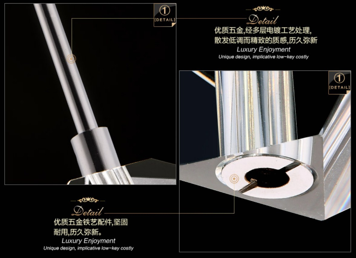 Потолочный светильник Plymouth Dili Lighting Crystal LED-5780-5 (101-239) - 8