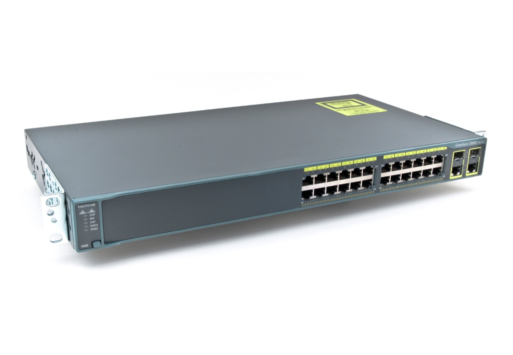 Коммутатор Cisco WS-C2960+24TC-L (134-105) - 2