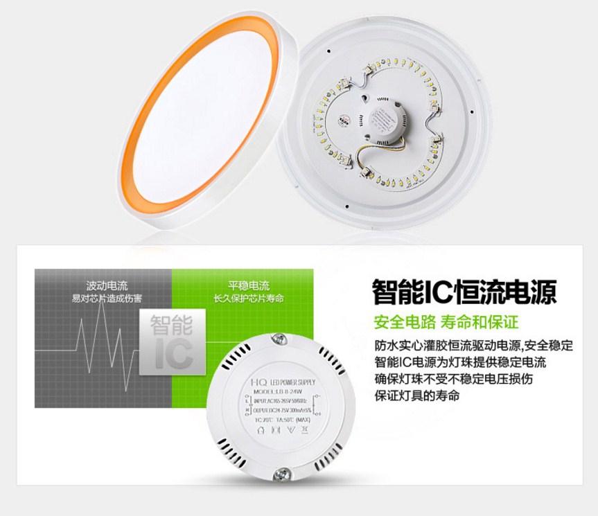 Светодиодный потолочный светильник LED-9056 (101-250) - 15