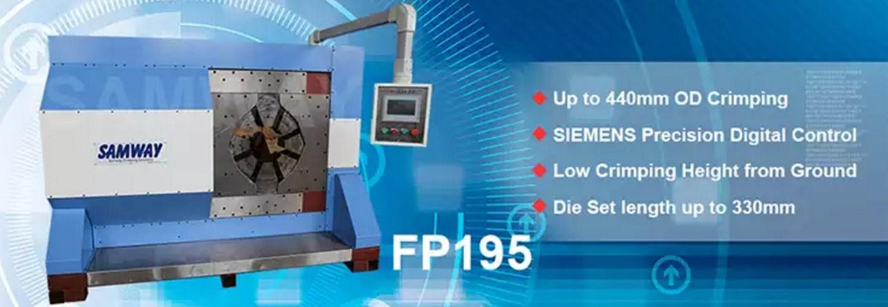 Индустриальный обжимной станок РВД - SAMWAY FP195 (108-173) - 1
