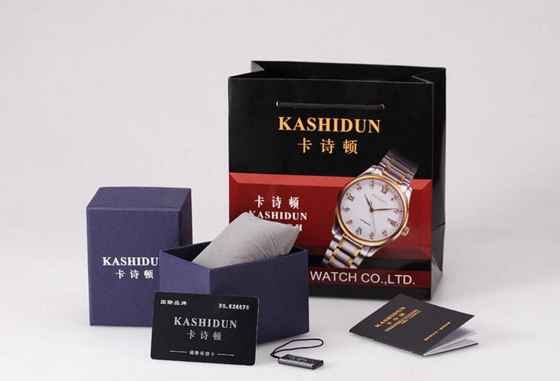 Водонепроницаемые механические часы KASHIDUN K-MZBK0001 (123-106) - 16