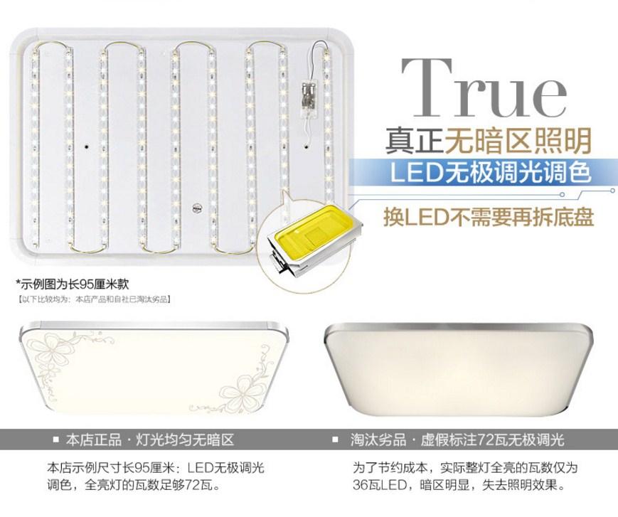 Светодиодные потолочные светильники LED-2305 (101-234) - 1