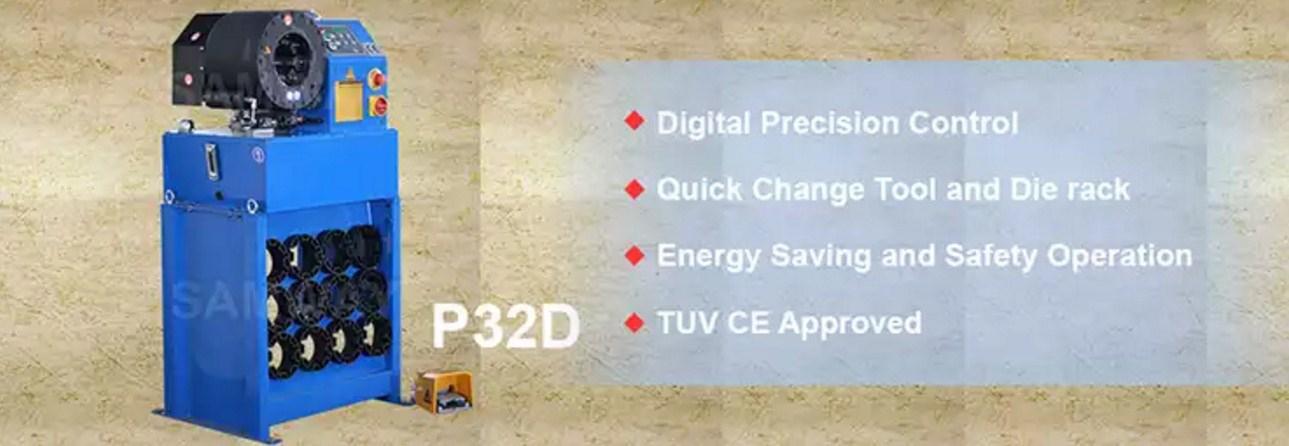 Станок для обжима РВД SAMWAY P32D  - 1