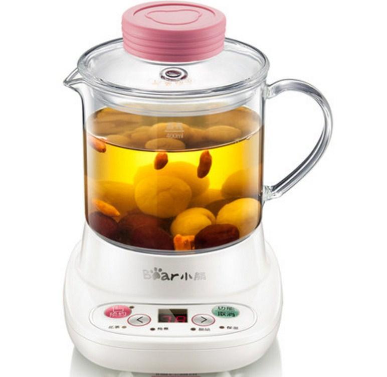 Многофункциональный электрический стеклянный чайник Bear YSH-A03U1 (119-109) - 4