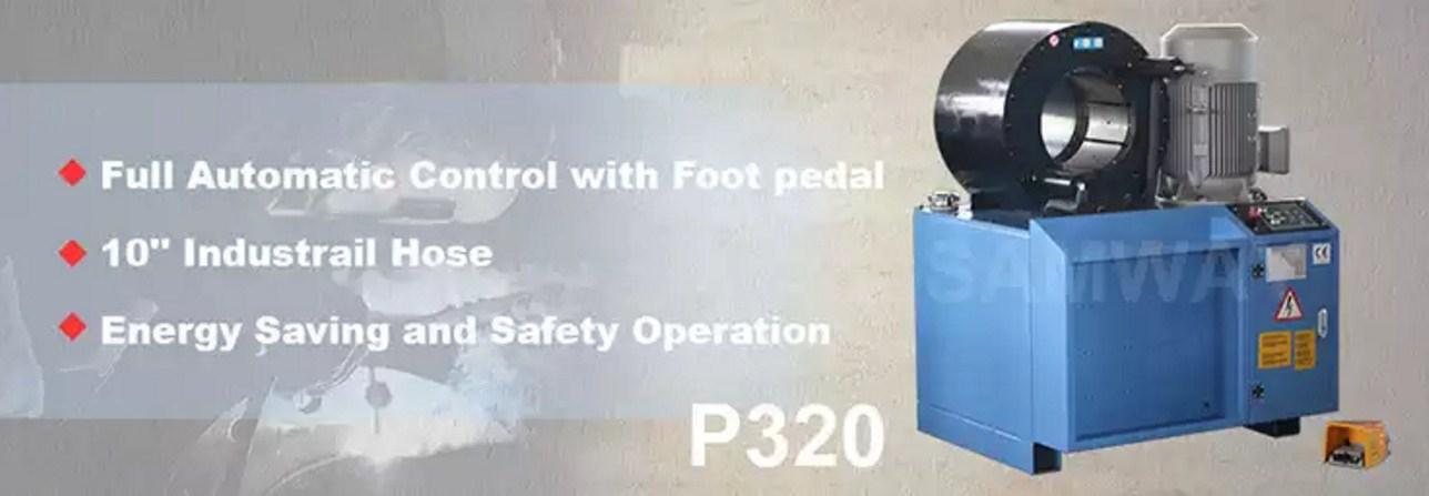 Обжимной станок РВД высокой точности - SAMWAY P320 (108-169) - 1
