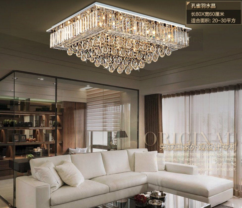 Люстра Plymouth Dili Lighting - Crystal Peacock feather LED-9083 (101-229) - 2