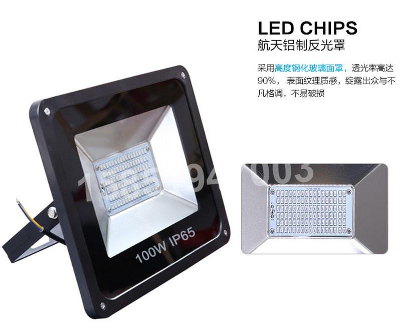 Промышленный светодиодный прожектор LED 30W-400W (115-101) - 9