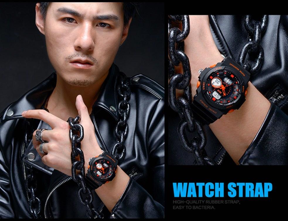 Водонепроницаемые электронные спортивные часы ZGO WATCH A316Z-X (123-108) - 11