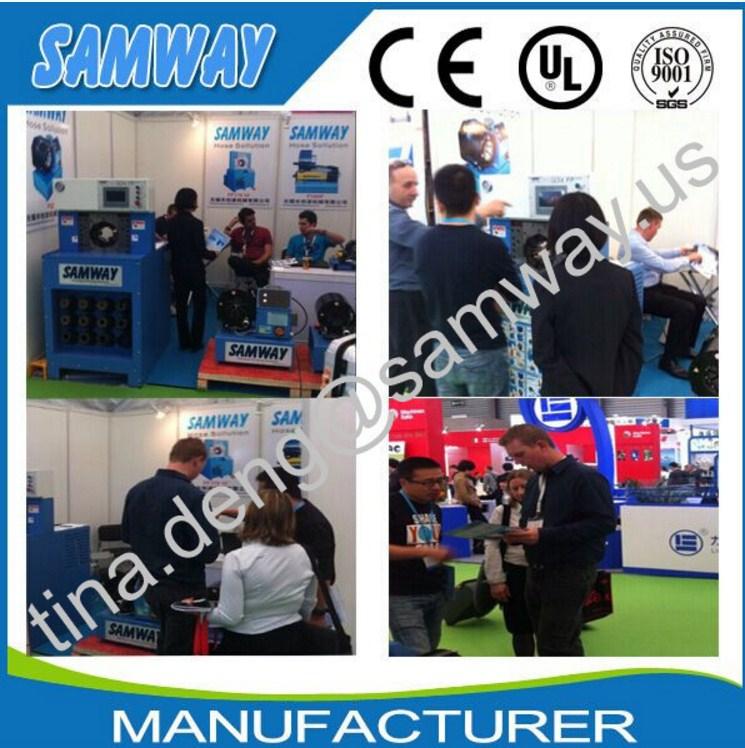 Ручной станок для обжима РВД SAMWAY P16HP (108-135) - 6