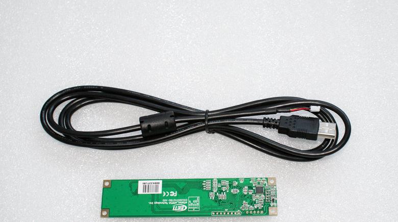 """Сенсорный емкостной экран 15,6"""" GreenTouch GT-CPT15, мультитач, USB (133-111) - 1"""