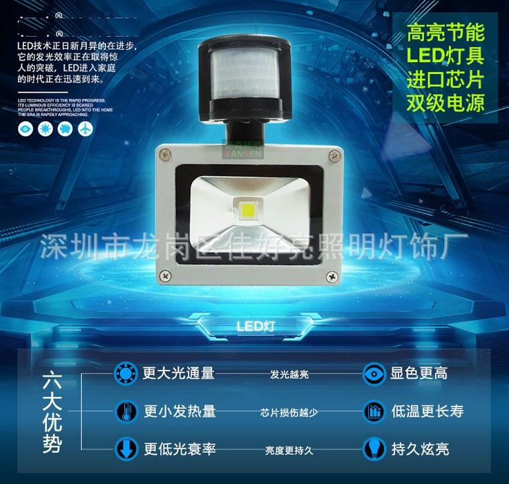 Светодиодный прожектор LED JHL-GY 10W-200W (115-102) - 1