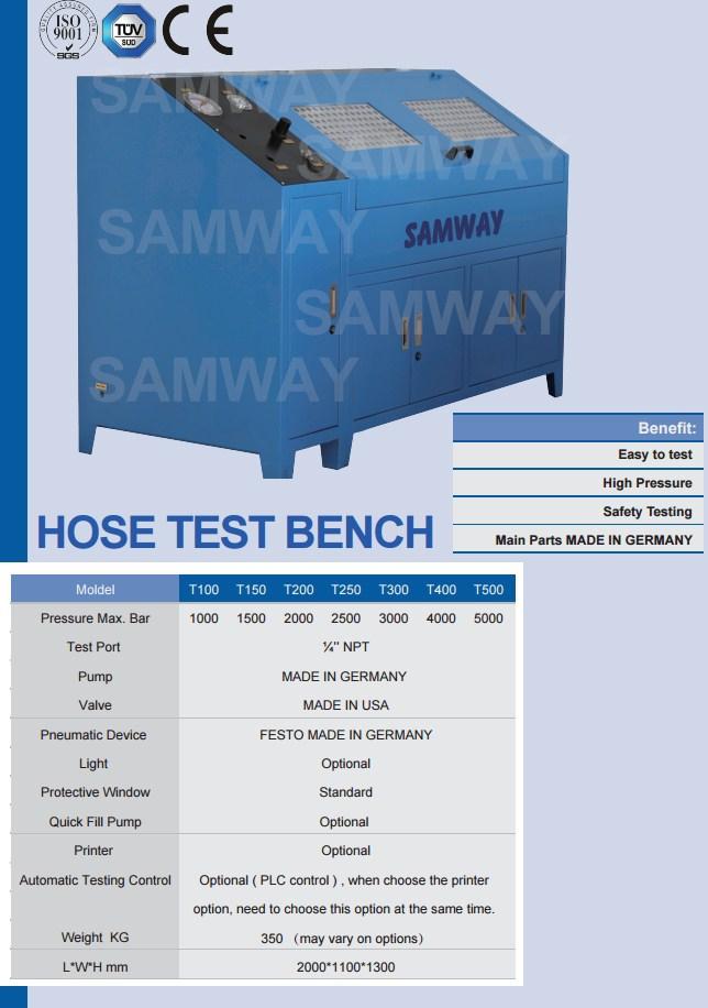 Стенд для испытания РВД - SAMWAY T500 (108-187) - 1