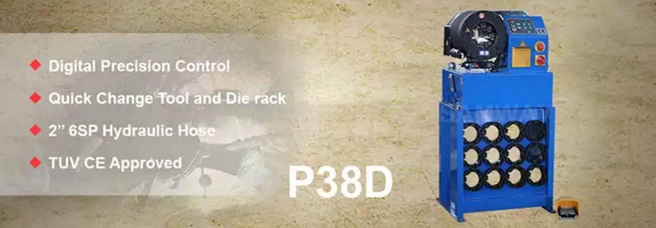 Обжимной станок РВД высокой точности - SAMWAY P38Q (108-170) - 1