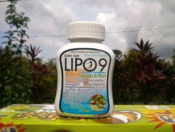 Капсулы для похудения Lipo 9 Burn Slim Detox, 30 капсул (122-006) - 2