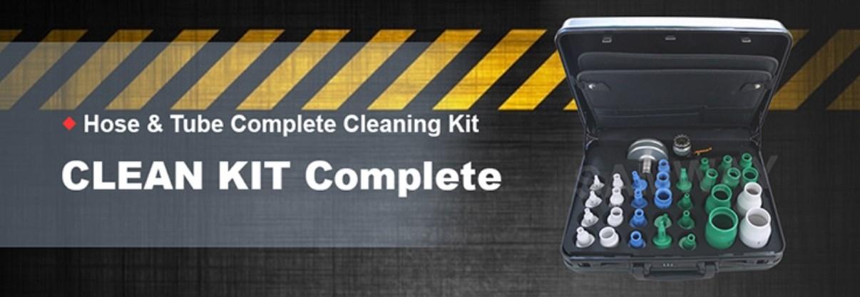 Набор монтажных принадлежностей для гидравлических и промышленных шлангов РВД SAMWAY CLEAN KIT Complete (108-205) - 2