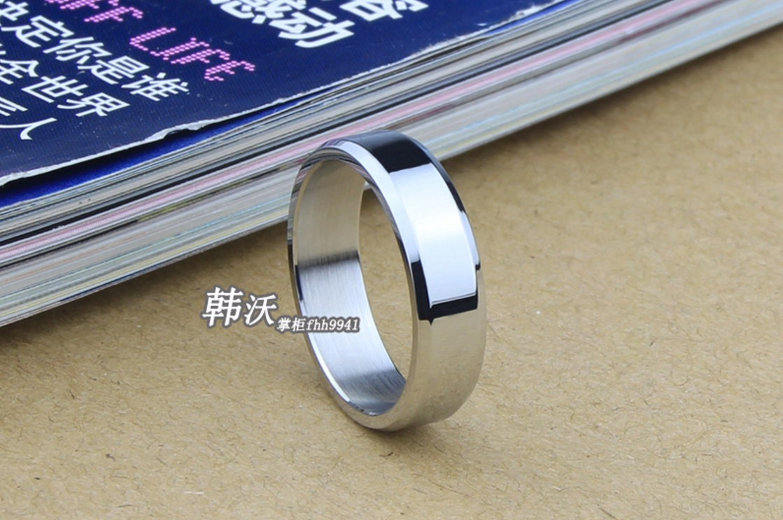 Мужское кольцо из титановой стали (124-111) - 4