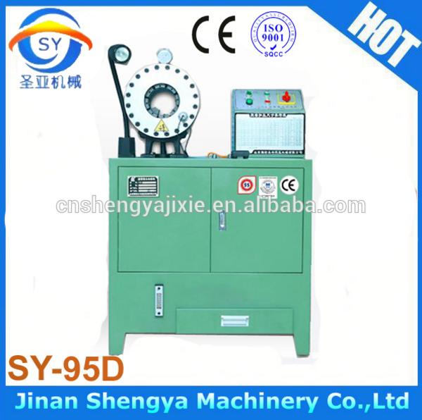 Станок для обжима РВД SY-95D 51mm (108-129) - 2