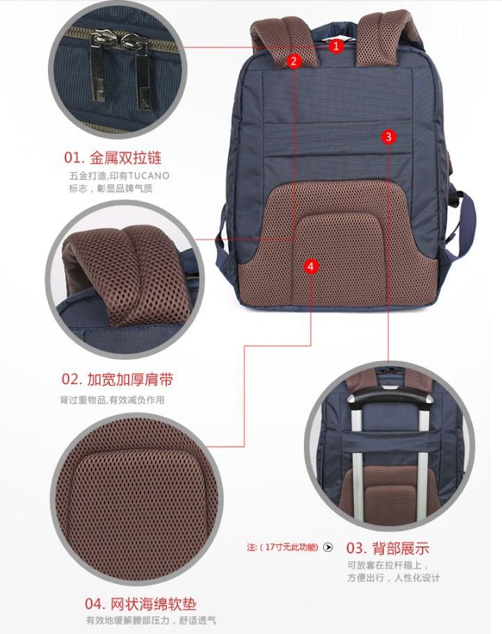 Сумка-рюкзак Tucano BEWOBK17 (127-100) - 10