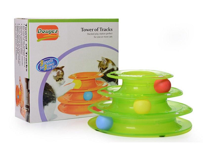 Игрушка для кошек Douges Tower of Tracks (128-108) - 6