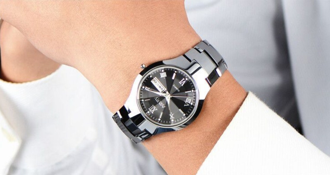 Водонепроницаемые мужские и женские кварцевые часы NARY 6020 (123-107) - 5