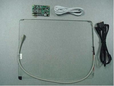 """Сенсорный экран 12,1"""" GreenTouch GT-SAW-12.1C-6FS, 4-6 мм ПАВ, USB (133-120) - 3"""