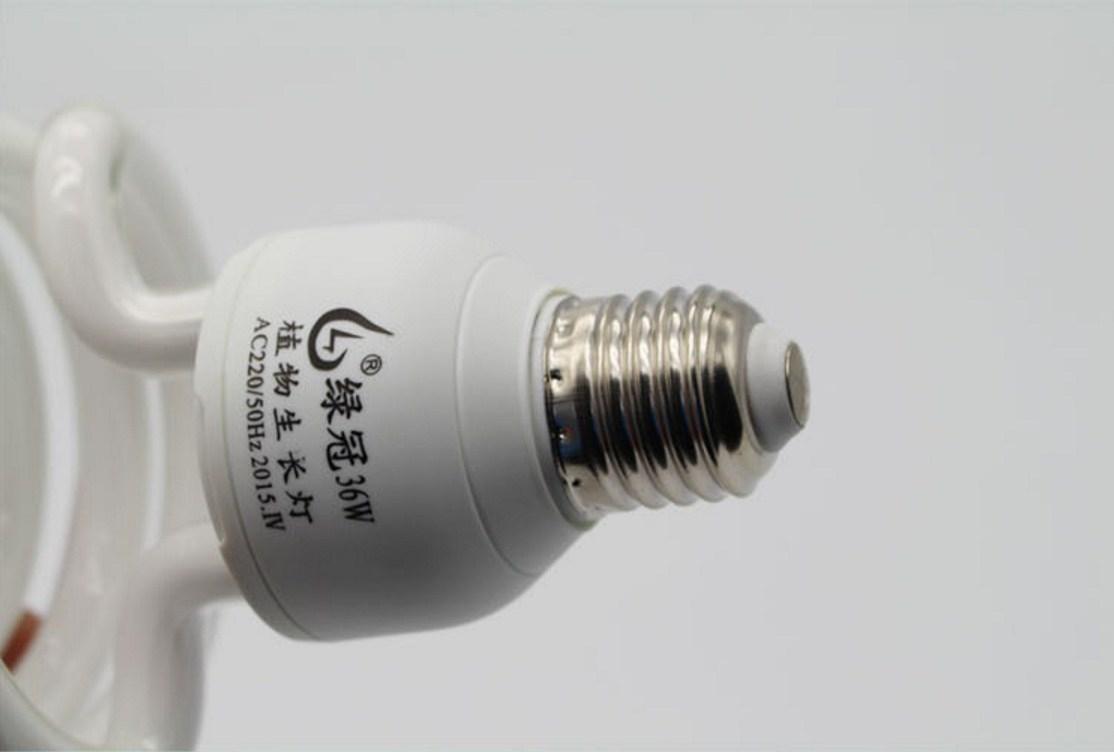 Энергосберегающая лампа для роста растений и абажур Lugal Lighting lg-szd-36-E27 (112-123) - 3