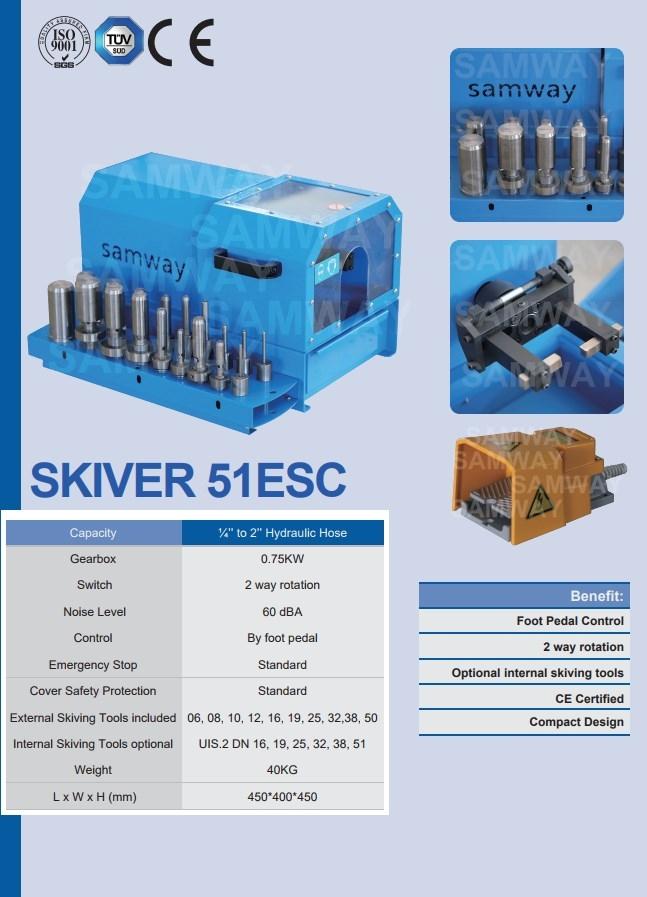 Окорочный станок для РВД SAMWAY SKIVER 51ESC (108-207) - 1