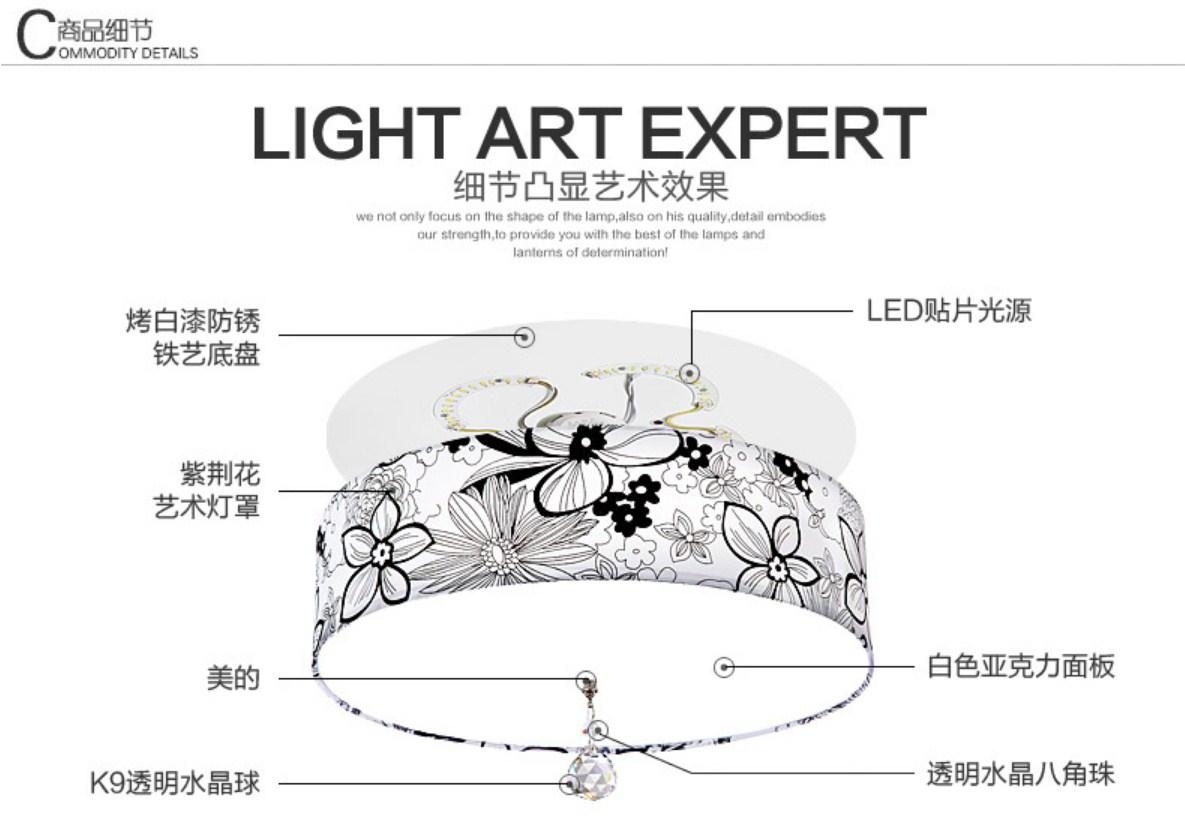 Светодиодный потолочный светильник Plymouth Dili Lighting LED-5759 (101-253) - 8