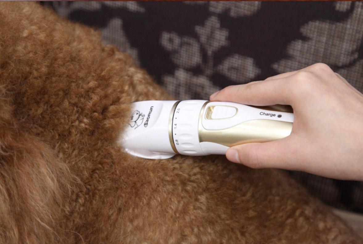 Профессиональная электрическая машинка для стрижки домашних животных BaoRun (128-106) - 14
