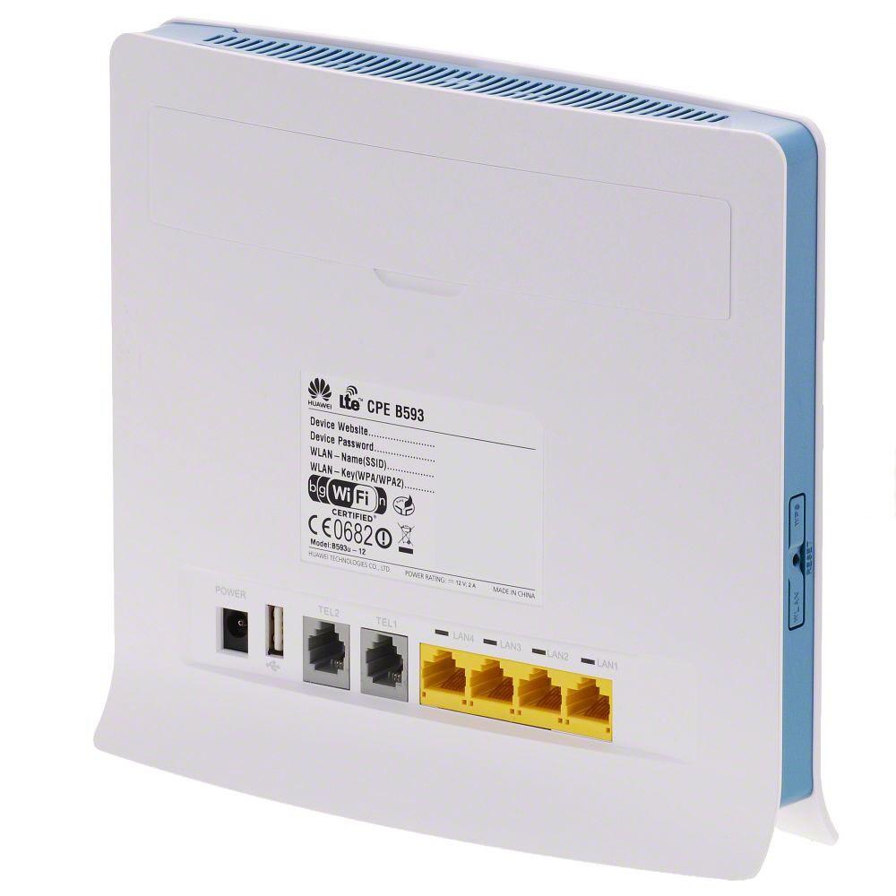 Портативный маршрутизатор Huawei B593s-22 (135-107) - 1