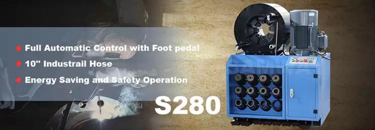 Индустриальный обжимной станок РВД - SAMWAY S280 (108-175) - 1