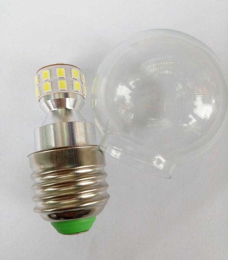 Лампа пожаробезопасная с металлическим корпусом LED-E27-5W-7W-2835 (101-218) - 3