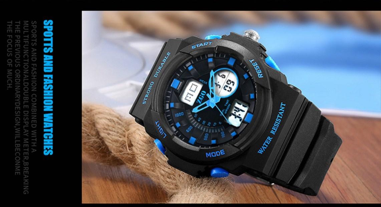 Водонепроницаемые электронные спортивные часы ZGO WATCH A316Z-X (123-108) - 14