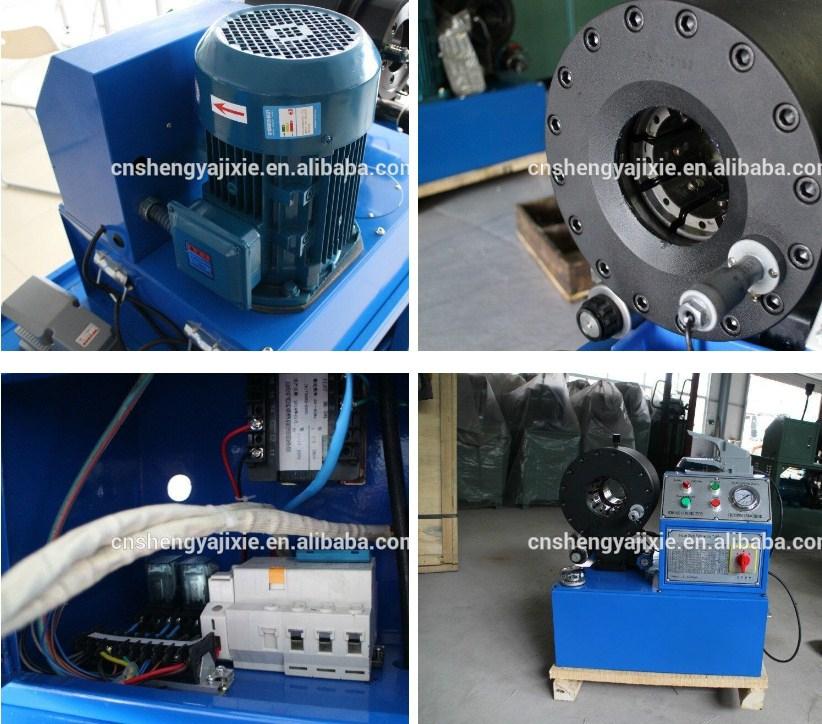 Станок для обжима РВД Shengya SY-CNC80 (108-156) - 10