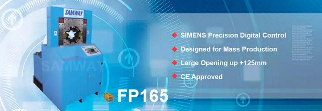 Индустриальный обжимной станок РВД - SAMWAY FP165 (108-174) - 1