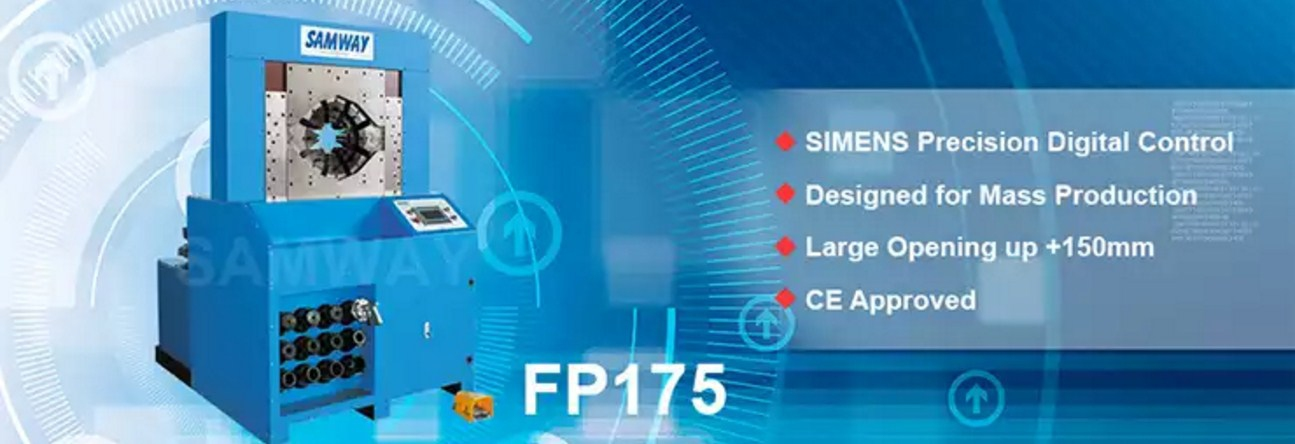 Обжимной станок РВД производственный - SAMWAY FP175 (108-161) - 1