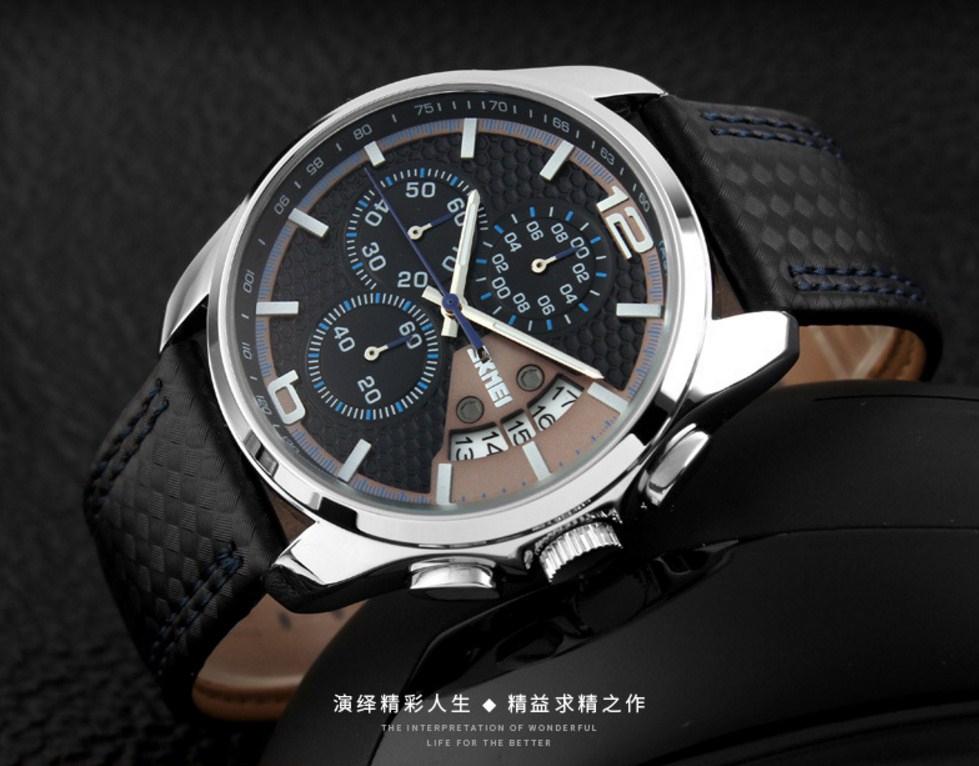 Водонепроницаемые кварцевые спортивные часы SKMEI (123-102) - 11