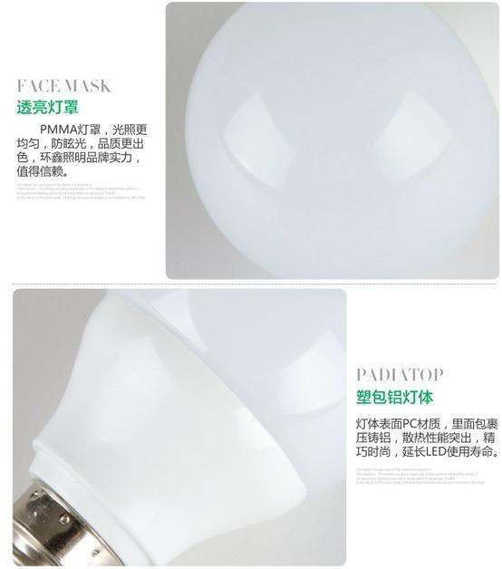 Светодиодные лампы LED-E14-E27 (стандартный и 270 градусов) (101-204) - 1