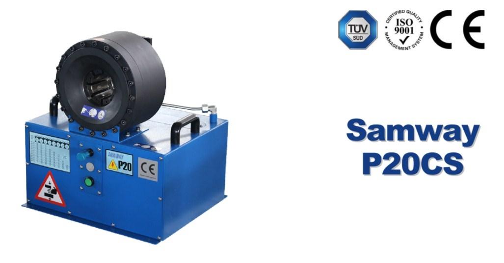 Мобильный станок для обжима РВД SAMWAY Р20CS (108-214) - 3